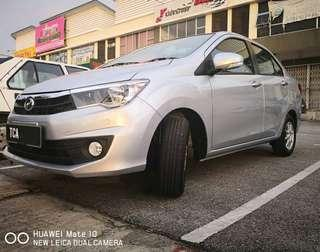 Grab car for rent-Bezza 1.3Auto year 2018