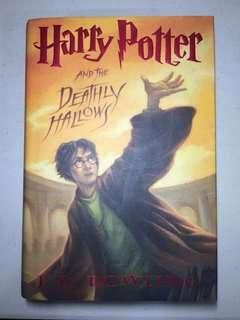 Harry Potter and the Deathly Hallows hardbound (negotiable)