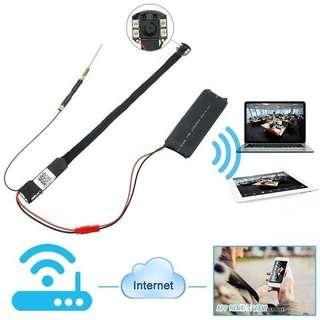 WiFi Hidden Camera Wireless Spy Pinhole Camcorder CCTV 1080P DIY Video Recorder