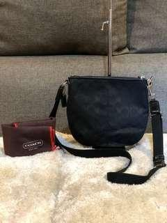 Authentic Coach Sling Bag With Dustbag