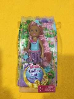 🆕Barbie Endless Hair Kingdom Chelsea Doll