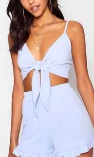 Tie up  playsuit