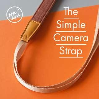 🚚 The Simple Strap for DSLR Cameras and Compacts