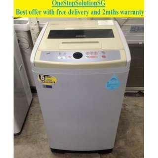 Samsung (7.5kg) washing machine / washer ($160 + free delivery and 2mths warranty)