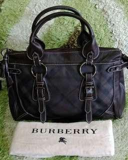HAND BAG BURBERRY MADE IN ITALY