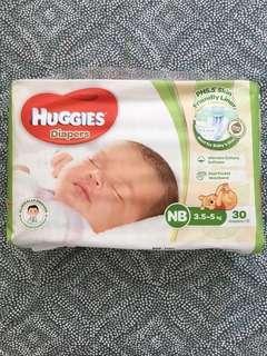 Huggies 初生嬰兒尿片
