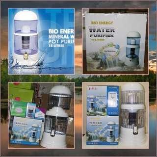 Mineral Pot 15 liter Alat Penyaring Air Bio Energy Termurah