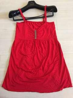 Red top free size