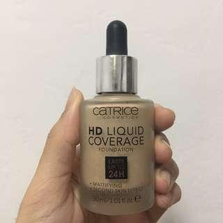Catrice hd liquid foundation light beige