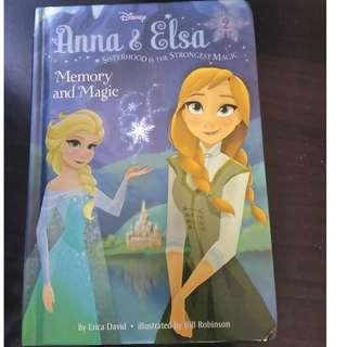 Anna & Elsa #2 : Memory and Magic By: Erica David, Bill Robinson (Illustrator)