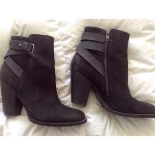 RMK Ladies ankle boots, black, size 41