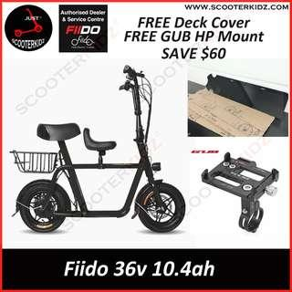 Fiido Electric Scooter Full Set (Child Seat+Basket) LTA Compliant [Free Gift Given]