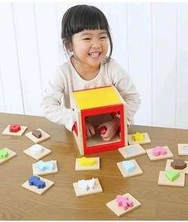 Touch and Guess Sensory Toy - 700 pesos