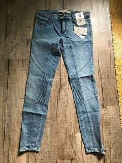 Primark Biker Jeans with ankle zipper