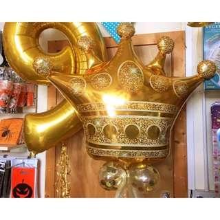 King crown balloon