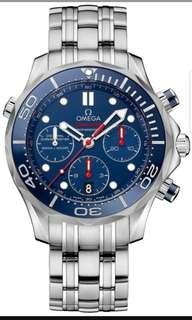 Omega Seamaster Chronograph 44 mm Co-axial