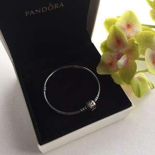 Pandora Oxidised Bracelet, Size 17