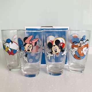 🚚 迪士尼圖案玻璃水杯(全新品)