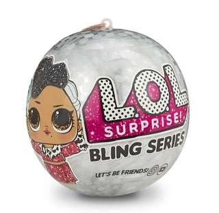 BN Authentic MGA L.O.L. Surprise Dolls Bling Series Christmas Tree Bauble Decoration Glitter LOL Ball Toy