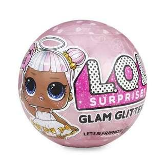 BN Authentic MGA L.O.L. Surprise Dolls Glam Glitters Asst in PDQ / Series 2 LOL Ball Toy