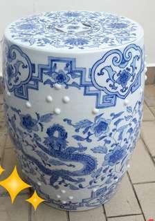 Porcelain Stool or Ceramic stool