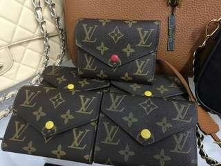 SALE TODAY TAKE ALL LOUIS VUITTON WALLETS COMPLETE WITH BOX