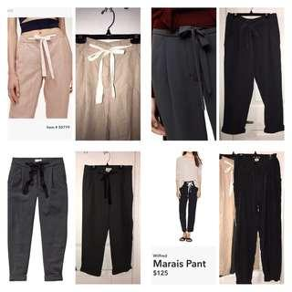 Aritzia Allants Marais and Darias