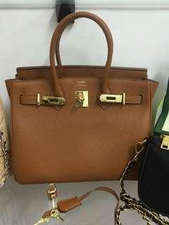 SALE TODAY HERMES BIRKIN 30CM TAN WITH DUSTBAG AND CARDS