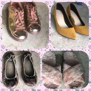 sepatu dan heels