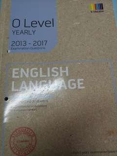 ENGLISH TYS 2013-2017