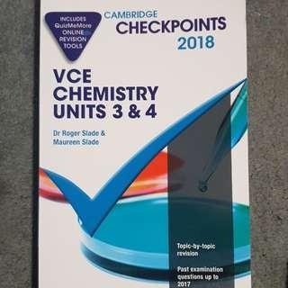 Cambridge Chemistry 3&4 Checkpoints 2018
