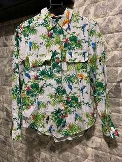 Flora printed shirt