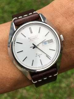 King Seiko 5626-8001 Double Signed Dial