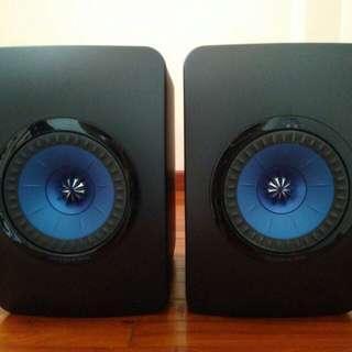 KEF LS50 passive speakers