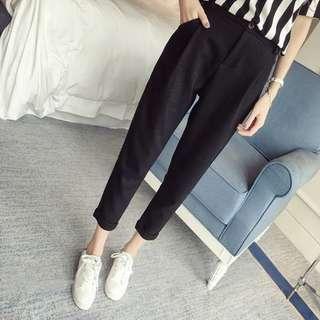 [清衣櫃]100%新 黑色 長褲