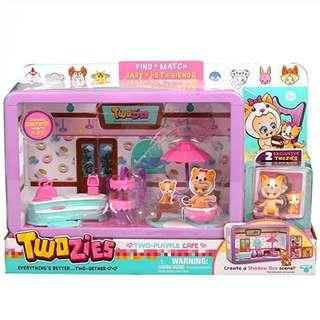 *In Stock* BN Twozies Two Playful Cafe Playset