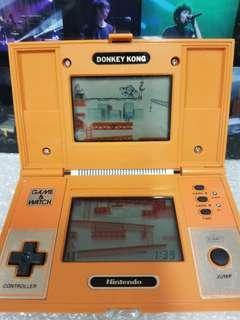 任天堂 第一代 大金剛 (1982) NINTENDO Game & Watch Donkey Kong 1982