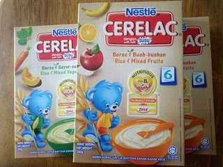 🚚 3 packs Nestle Cerelac