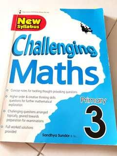 🚚 Challenging Maths primary 3