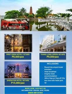 3d2n Hanoi Vietnam with Hop On Hop Off Tour Land Package