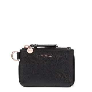 Mimco Modify CC Black and Rose Gold Pouch