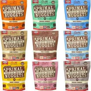 Primal Freeze-Dried Nuggets for Dogs (14 oz)