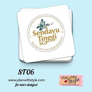 Corporate Tag/Sticker ST06