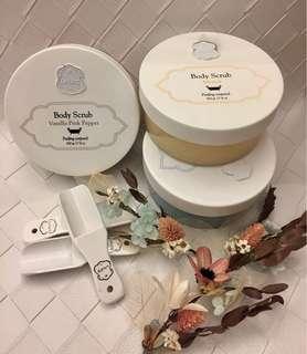 🚚 日本🇯🇵同步販售 以色列 Laline 香氛 身體磨砂膏 500g