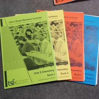 TSFX Exam Revision Chem Unit 3 (4 books)