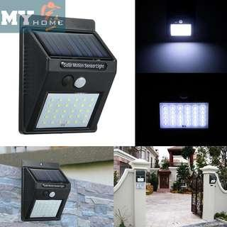 Solar motion led 30pcs led