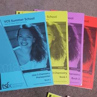 TSFX Summer School Chem Unit 3 (4 books)