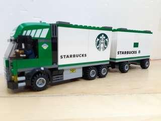 Lego 7733 二次 Starbucks Truck