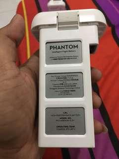 Battery Dji phantom 3 cc rendah garan dji wook