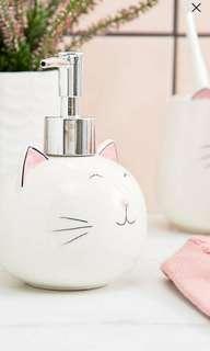 Sass and Belle Cat Hand Soap Dispenser